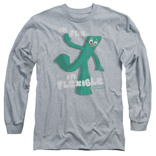 Image for Gumby Long Sleeve T-Shirt - Flex