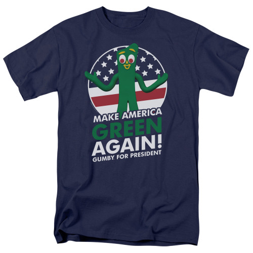 Image for Gumby T-Shirt - Gumby for President