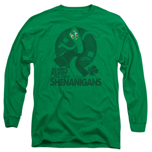 Image for Gumby Long Sleeve T-Shirt - More Shenanigans