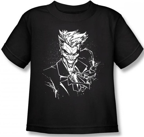Image for Joker Kids T-Shirt - Splatter Smile