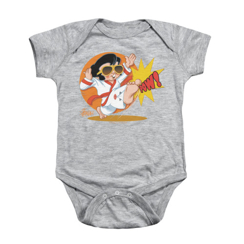 Image for Elvis Baby Creeper - Karate King