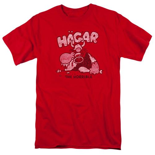 Image for Hagar The Horrible T-Shirt - Hagar Gulp