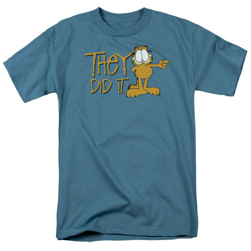 Image for Garfield T-Shirt - They Did It