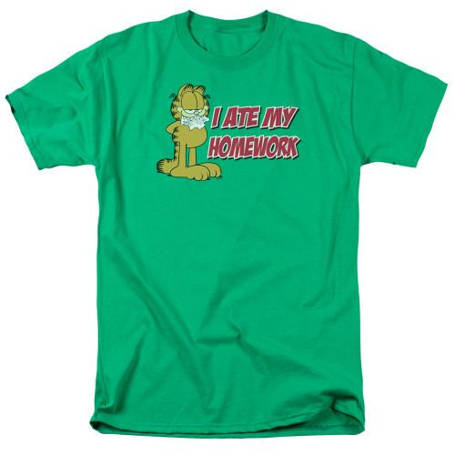 Image for Garfield T-Shirt - I Ate My Homework
