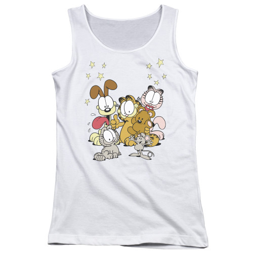 Image for Garfield Girls Tank Top - Friends are the Best