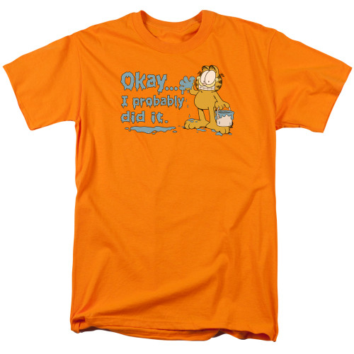 Image for Garfield T-Shirt - I Probably Did It