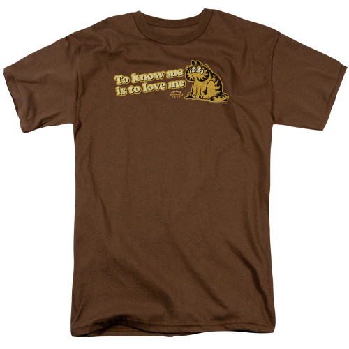 Image for Garfield T-Shirt - To Know Me is to Love Me