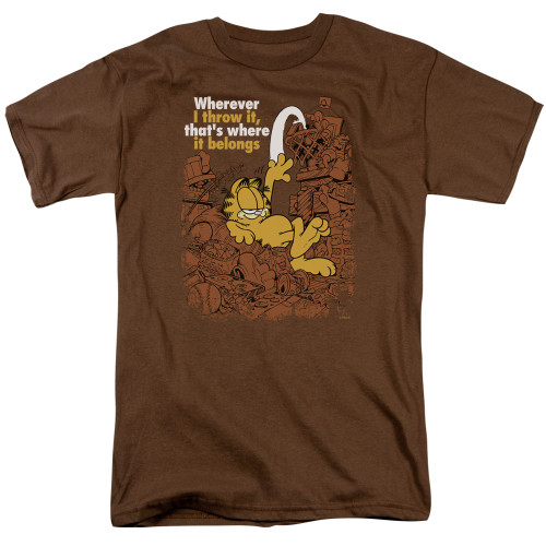 Image for Garfield T-Shirt - Where It Belongs