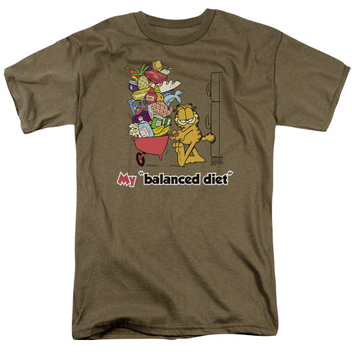 Image for Garfield T-Shirt - Balanced Diet