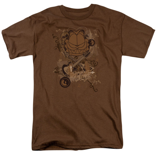 Image for Garfield T-Shirt - Rock Rules