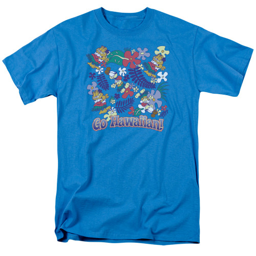 Image for Garfield T-Shirt - Go Hawaiian