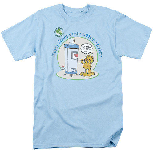 Image for Garfield T-Shirt - Go Plant a Tree