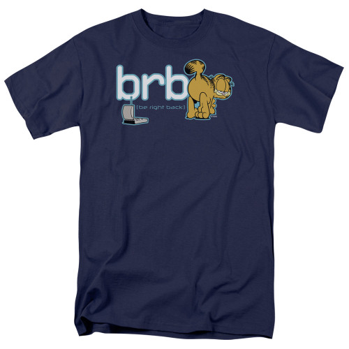 Image for Garfield T-Shirt - Be Right Back