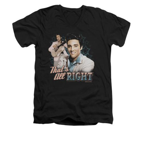 Image for Elvis V-Neck T-Shirt That's All Right