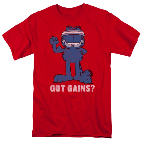 Image for Garfield T-Shirt - Got Gains