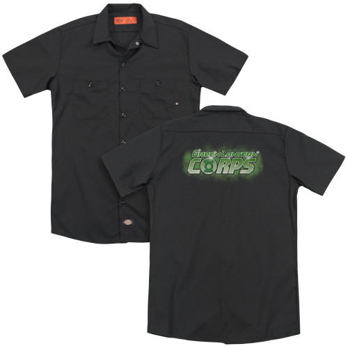 Image for Green Lantern Dickies Work Shirt - GL Corps Title