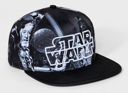 Front image for Star Wars a New Hope Snapback Hat