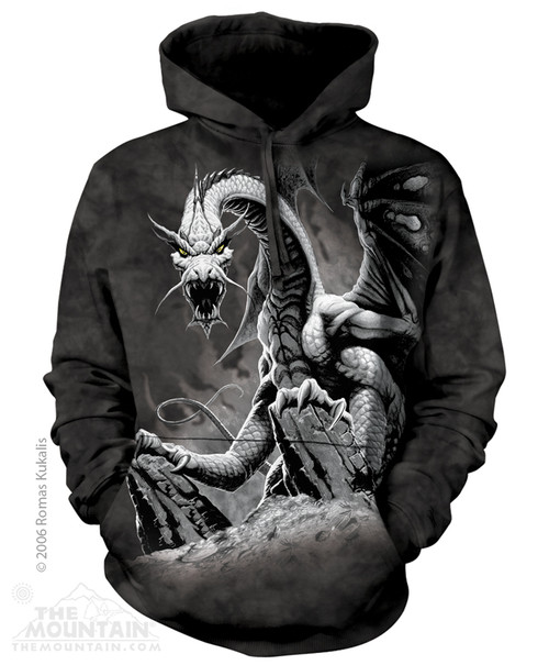 Image for The Mountain Hoodie - Black Dragon