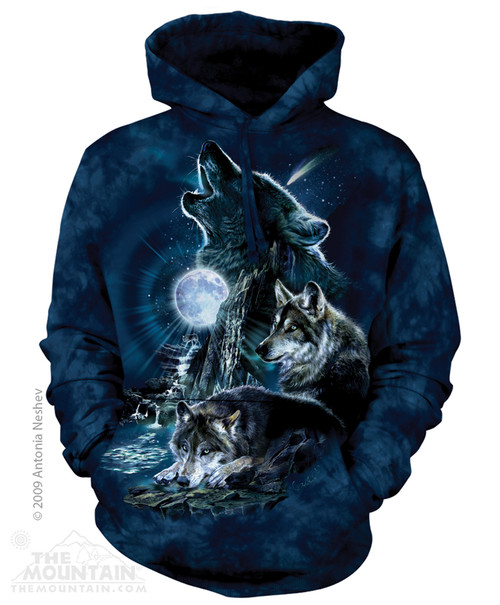 Image for The Mountain Hoodie - Bark at the Moon