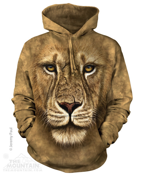 Image for The Mountain Hoodie - Lion Warrior