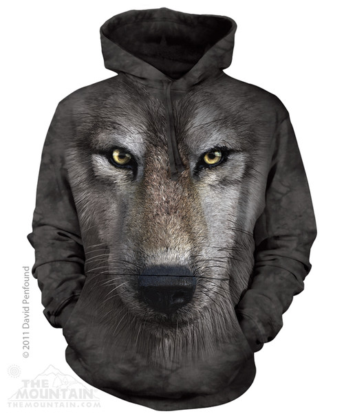 Image for The Mountain Hoodie - Wolf Face