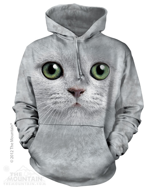 Image for The Mountain Hoodie - Grey Eyes Face