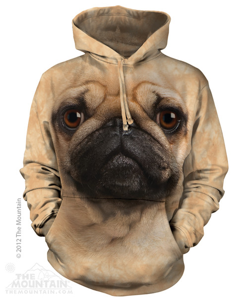 Image for The Mountain Hoodie - Pug Face