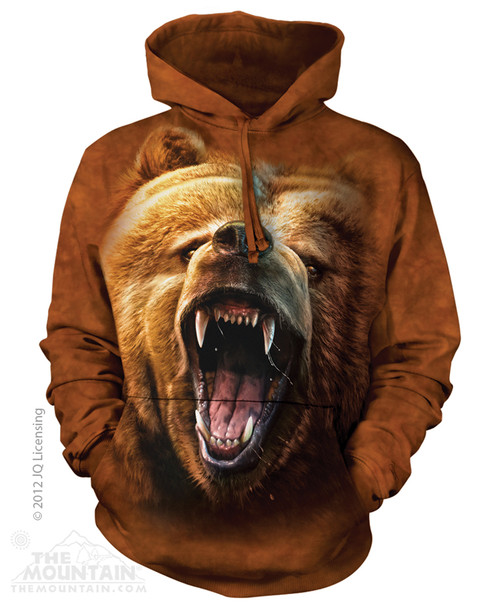 Image for The Mountain Hoodie - Grizzly Growl