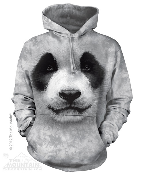 Image for The Mountain Hoodie - Big Face Panda