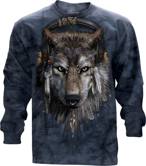 Image for The Mountain Long Sleeve T-Shirt - DJ Fen