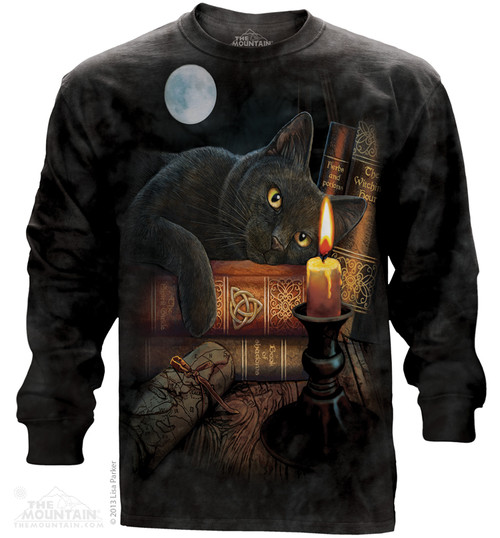 Image for The Mountain Long Sleeve T-Shirt - The Witching Hour