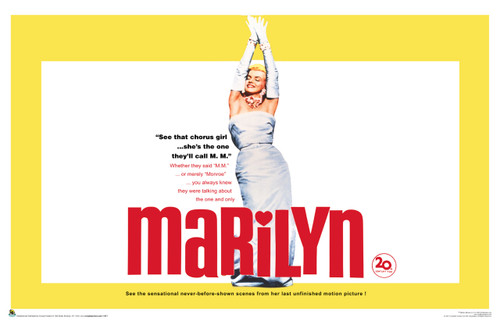 Image for Marilyn Monroe Poster - Chorus Girl