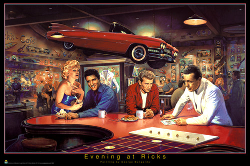 Image for Evening at Ricks Poster