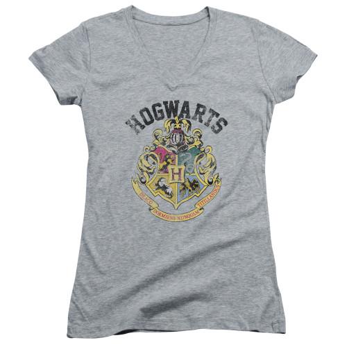 Image for Harry Potter Girls V Neck - Crest of Hogwarts