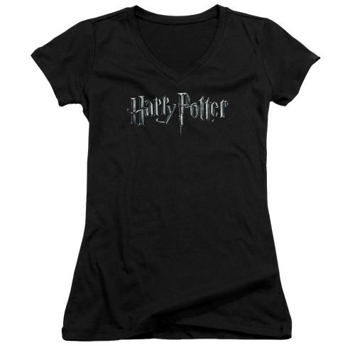 Image for Harry Potter Girls V Neck - Classic Logo