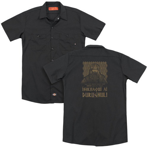 Image for Lord of the Rings Dickies Work Shirt - Shikhaqwi Durugnul