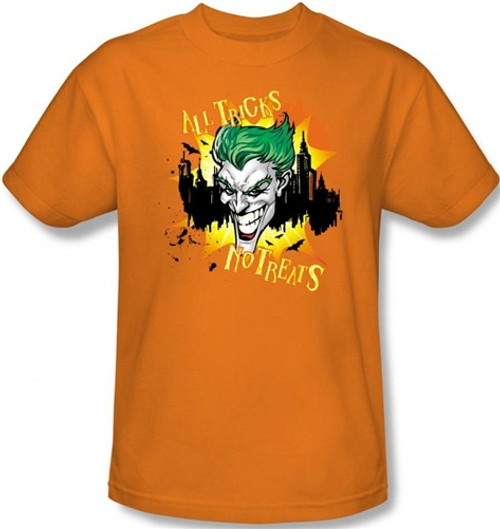 Joker T-Shirt - Halloween All Tricks, No Treats
