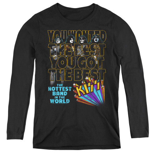 Image for Kiss Woman's T-Shirt - The Best