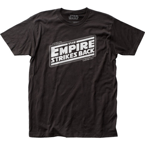 Image for Star Wars T-Shirt - The Empire Strikes Back Logo