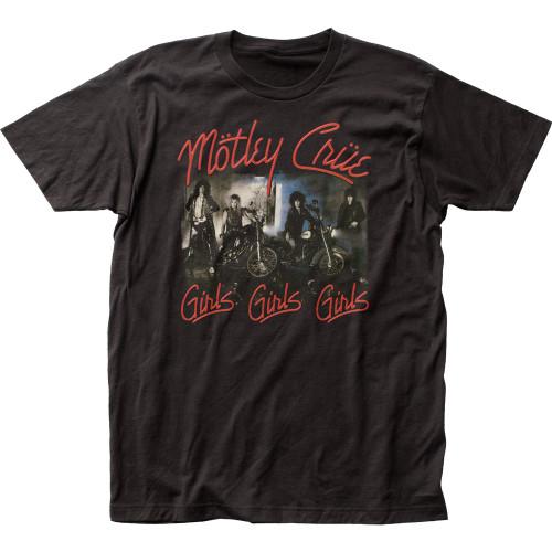 Image for Motley Crue Girls Girls Girls T-Shirt