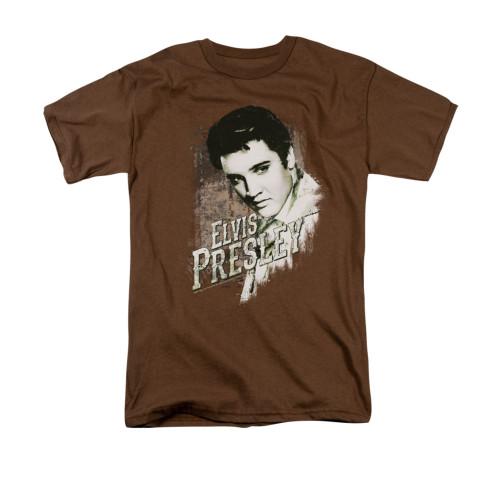 Image for Elvis T-Shirt - Rugged Elvis