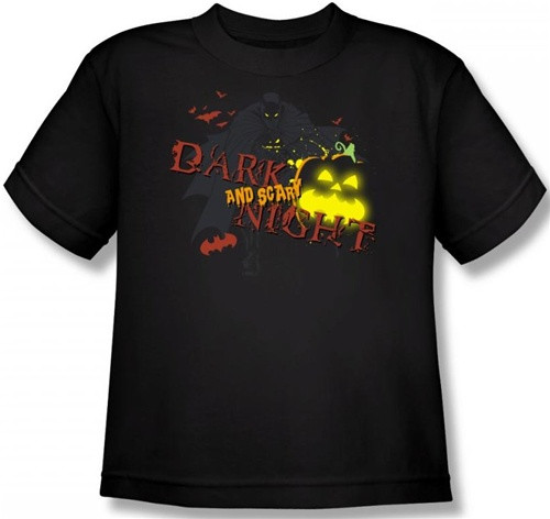 Image for Batman Halloween Dark and Scary Night Toddler T-Shirt