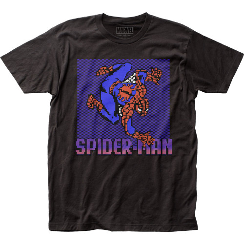 Image for Spider-Man T-Shirt - 8-Bit Crawler