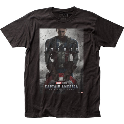 Image for Captain America T-Shirt - Poster