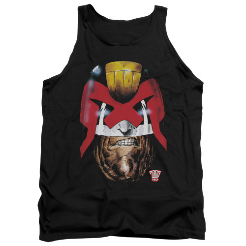 Image for Judge Dredd Tank Top - Dredds Head