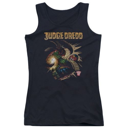 Image for Judge Dredd Girls Tank Top - Blast Away
