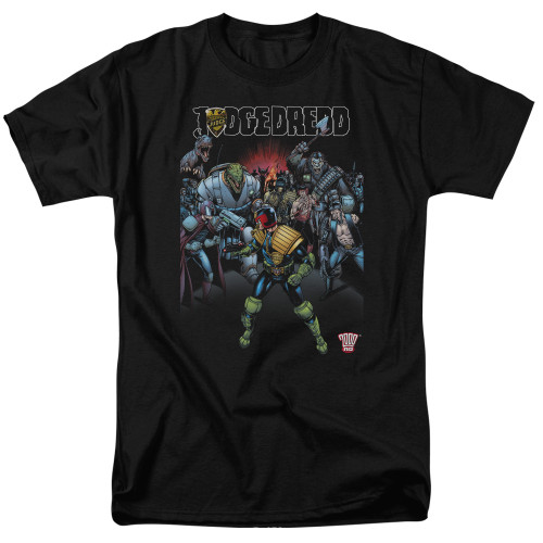 Image for Judge Dredd Behind You T-Shirt