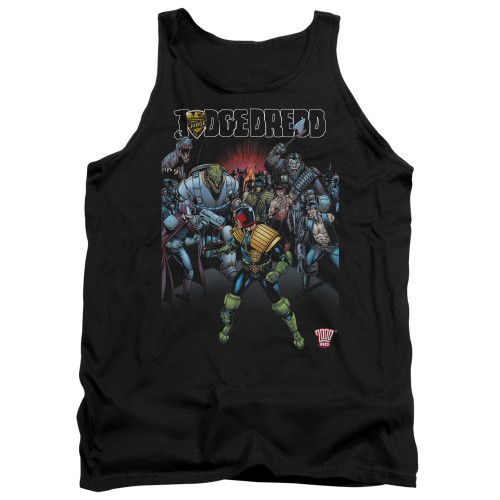 Image for Judge Dredd Tank Top - Behind You