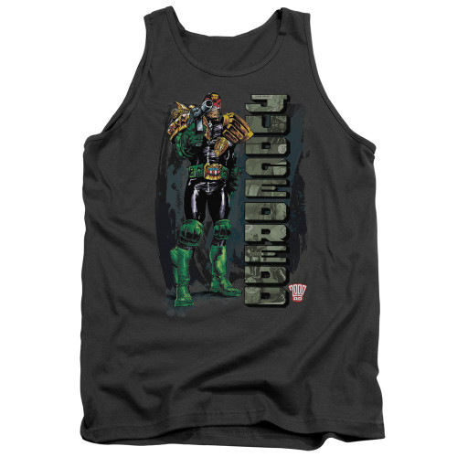 Image for Judge Dredd Tank Top - Blam