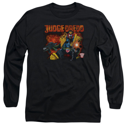 Image for Judge Dredd Through Fire T-Shirt